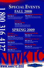 Northwest Kansas Tectical College Special Events - Poster